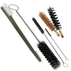 50 Call Muzzleloader Cleaning Brush Kit