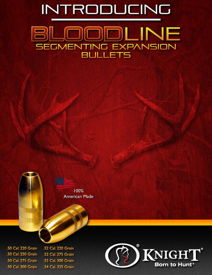 Bloodline 50 cal Muzzleloader Bullet Sample Pack
