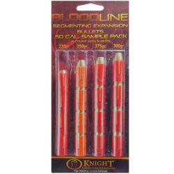 Bloodline 50 cal Muzzleloader Bullet Sample Pack