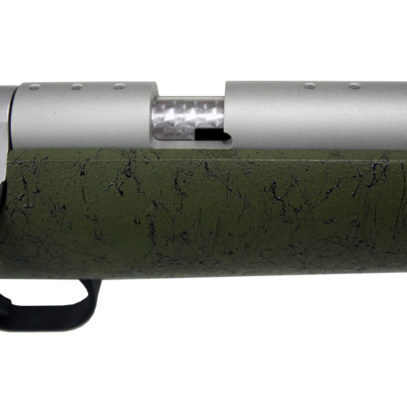 Olive Green Ultra-Lite Muzzleloader Breech Detail