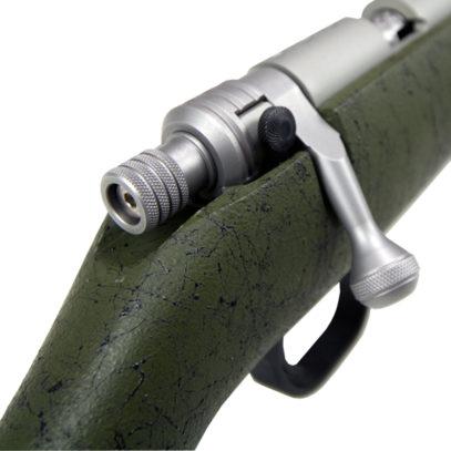 Olive Green Ultra-Lite Muzzleloader Bolt Detail