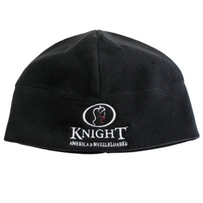 Knight Black Fleece Beanie