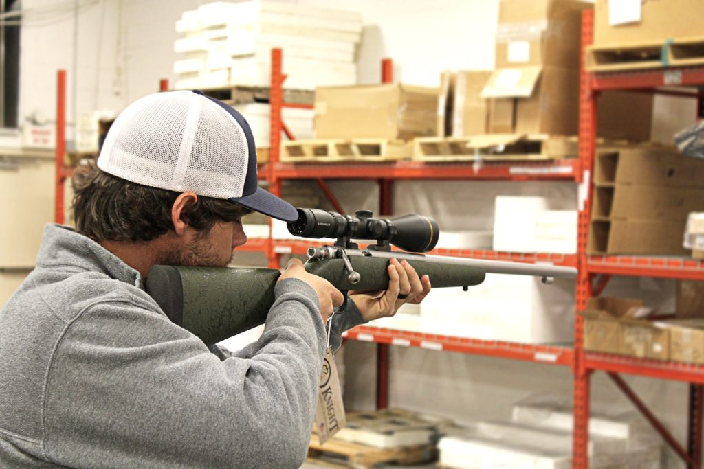 American Made Knight Muzzleloader Takes World-Record Buck