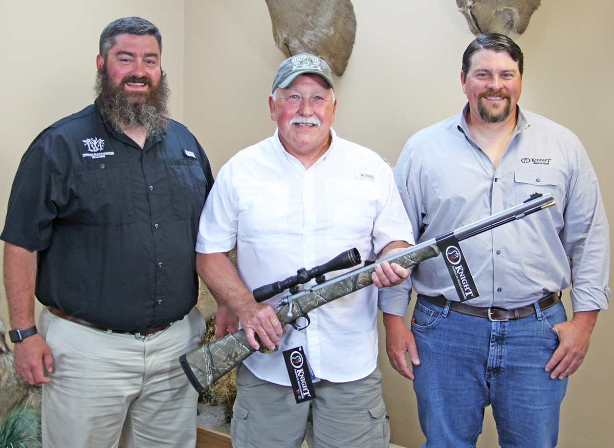 Hunters for the Hungry Processor with Tennessee-made Muzzleloader