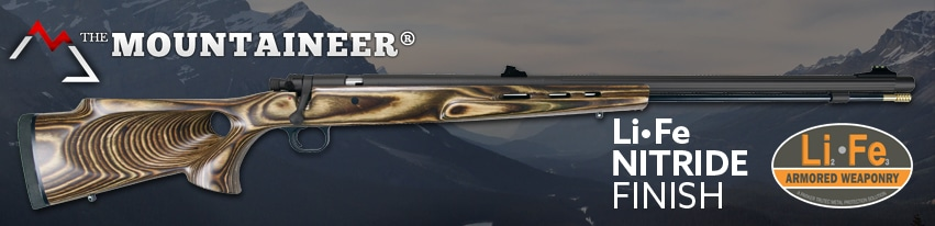 Mountaineer Muzzleloader With Nitride Finish