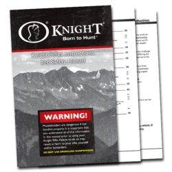 Knight Muzzleloading User Manual - Paperback Book