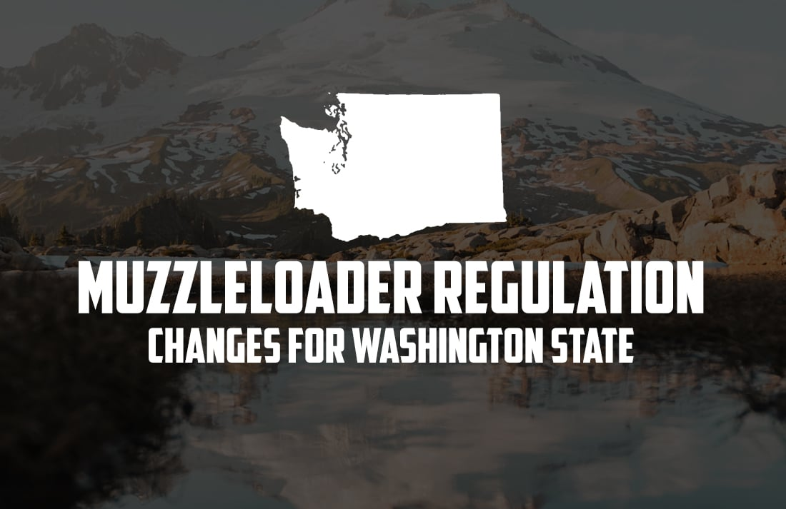 Muzzleloader Regulation Changes for Washington State