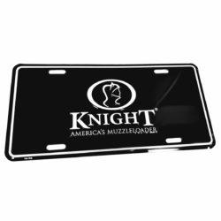 Knight Decorative Aluminum License Plate