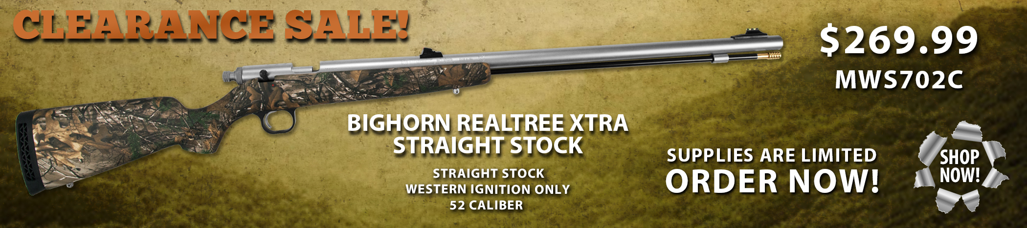 Knight-Bighorn-RealTree-Xtra-Camo-Sale-Banner