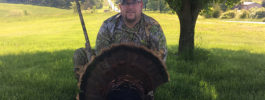 Shot with Knight Tk-2000 10.5 inch beard 24 lbs