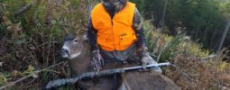 My son Oliver (age 11) shot his first muzzleloader deer last season in Washington State with his Knight Littlehorn. He won a raffle in the spring for a gift certificate to a local gun store and was extremely excited to use it on his first muzzleloader. The knight was a great fit for him and after some time at the range he's really dialed on with this gun.  It's been a great experience for him.