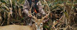 Barry Brakebill took this beautiful buck at 226 yds with his 1:20 .45 cal Mountaineer in Kansas this past week!